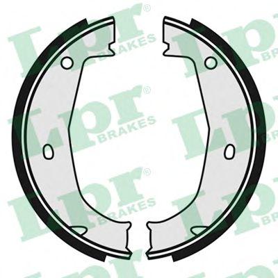 Brake shoe set parking brake LPR 04685