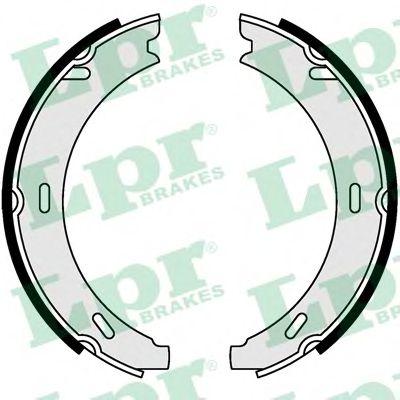 04730  LPR - Гальмівні колодки до барабанів (HB) LPR 04730