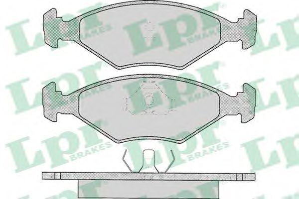 Гальмівні колодки, дискові  арт. 05P016