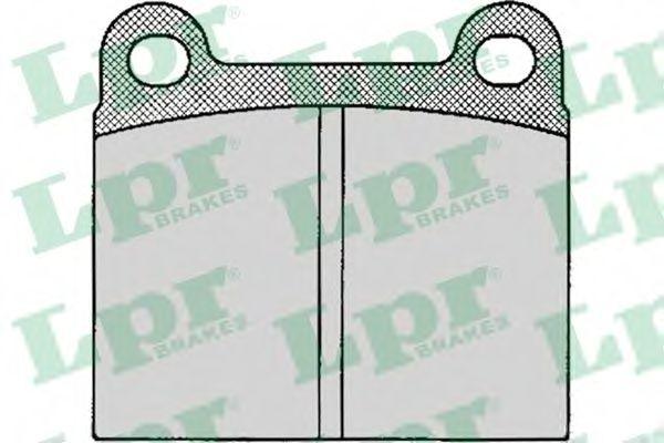SF2115 Тормозные колодки  арт. 05P024