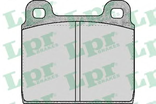 SF2166 Тормозные колодки LPR 05P026