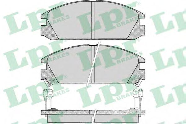 Тормозные колодки дисковые  арт. 05P073