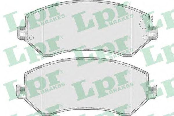 05P1005  LPR - Гальмівні колодки до дисків  арт. 05P1005