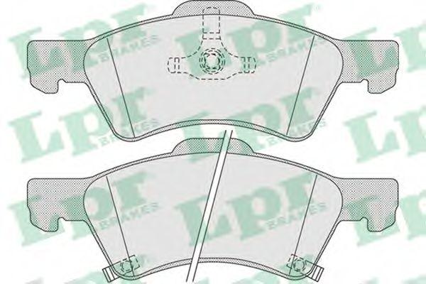 05P1006  LPR - Гальмівні колодки до дисків  арт. 05P1006