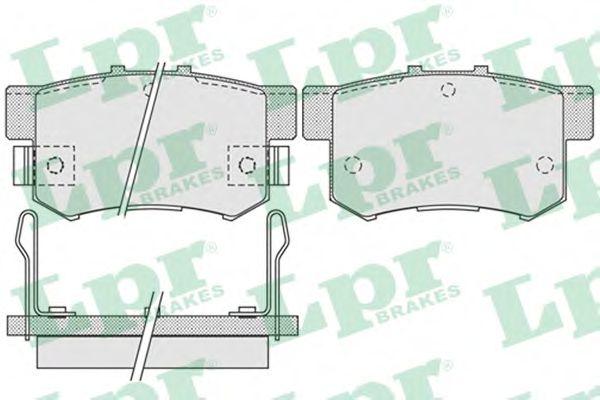 Тормозные колодки дисковые  арт. 05P1014