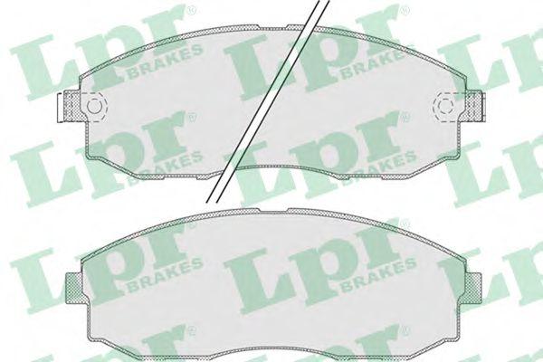 Тормозные колодки  арт. 05P1015