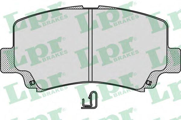 Тормозные колодки дисковые  арт. 05P1028