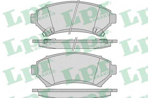 Тормозные колодки дисковые  арт. 05P1054