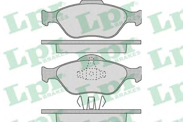 Тормозные колодки  арт. 05P1088