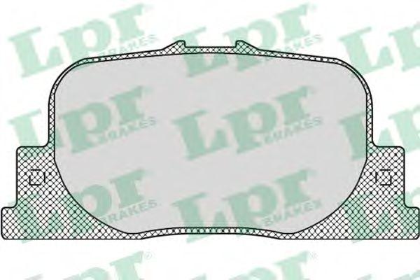 Тормозные колодки дисковые  арт. 05P1112
