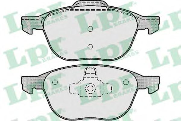 Тормозные колодки  арт. 05P1190