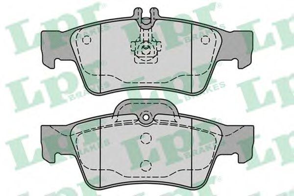 Brake pad set LPR 05P1232