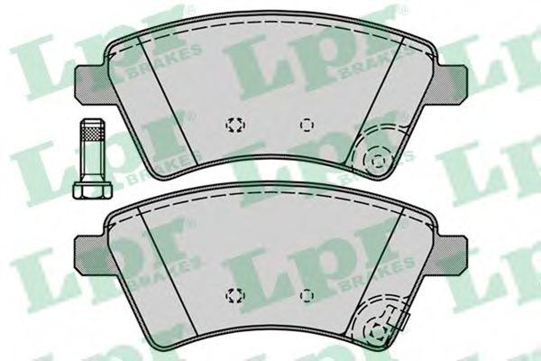 Тормозные колодки  арт. 05P1245