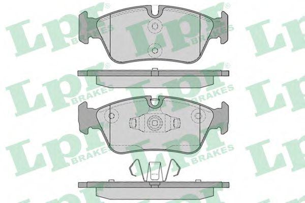 05P1250  LPR - Гальмівні колодки до дисків (F, V)  арт. 05P1250