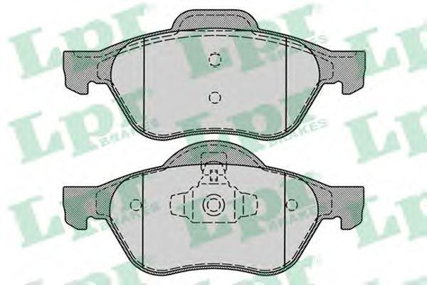 Brake pad set LPR 05P1279