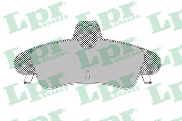Тормозные колодки  арт. 05P1292