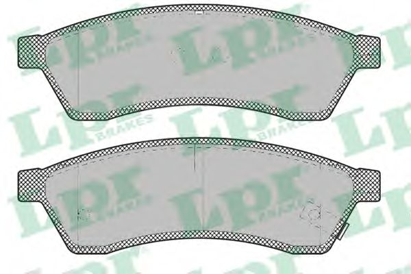 05P1320  LPR - Гальмівні колодки до дисків (R, S)  арт. 05P1320