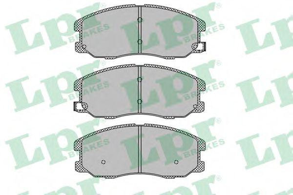 Тормозные колодки  арт. 05P1322