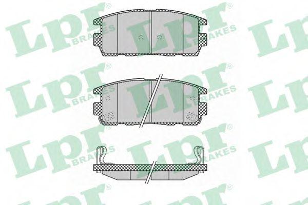 Тормозные колодки  арт. 05P1323