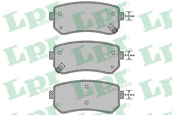 Тормозные колодки  арт. 05P1344