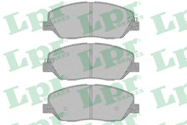 Тормозные колодки  арт. 05P1382