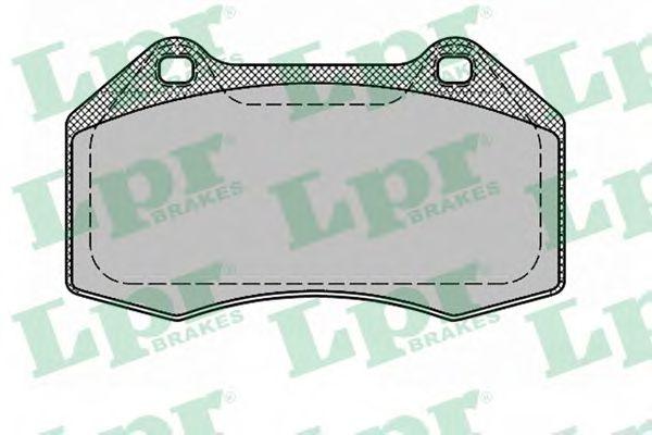 Тормозные колодки LPR арт. 05P1389