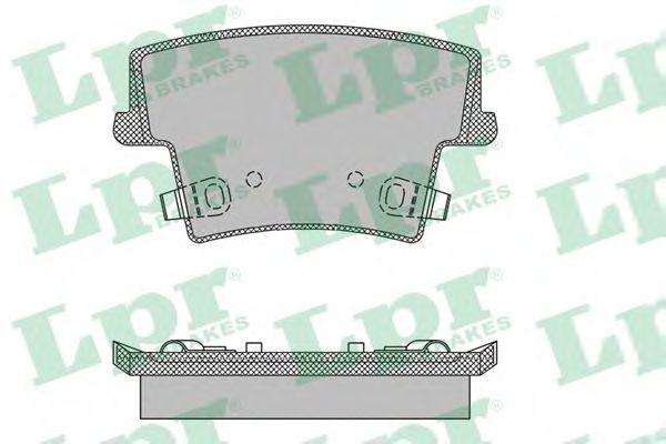 Тормозные колодки дисковые  арт. 05P1400