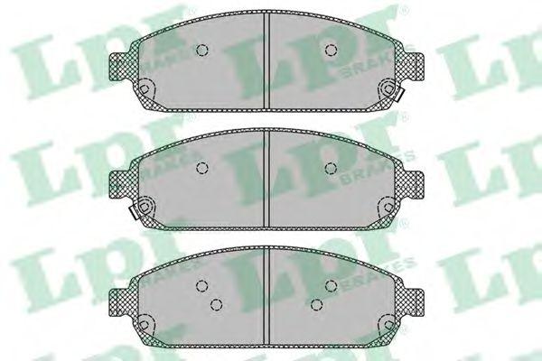 Тормозные колодки  арт. 05P1403