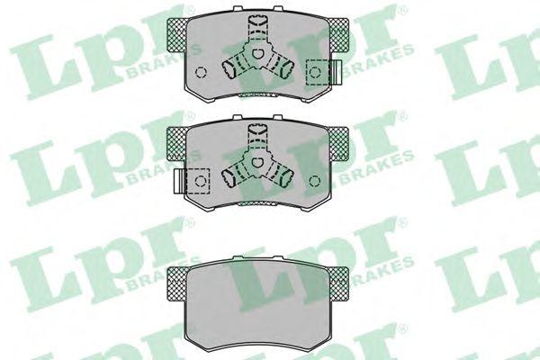 Тормозные колодки дисковые  арт. 05P1404