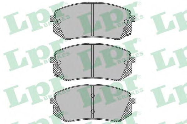 Тормозные колодки  арт. 05P1415