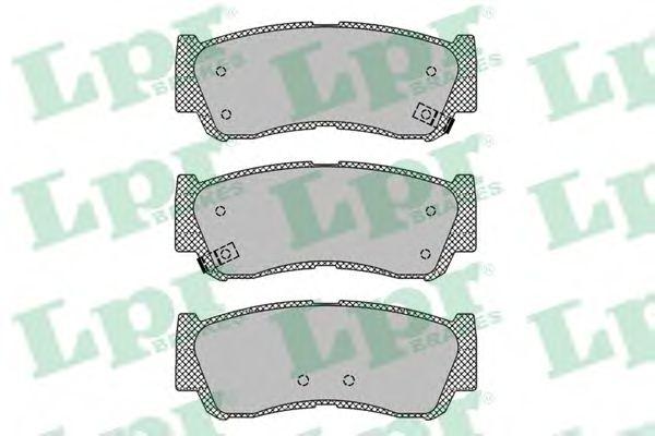 Тормозные колодки  арт. 05P1417