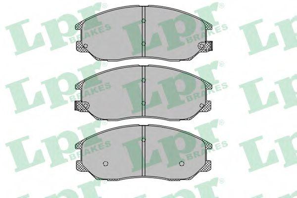 05P1448  LPR - Гальмівні колодки до дисків (F, з датчиком)  арт. 05P1448