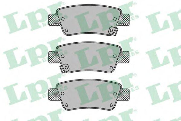 Тормозные колодки  арт. 05P1455