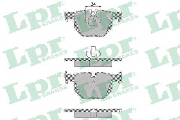 Тормозные колодки  арт. 05P1472