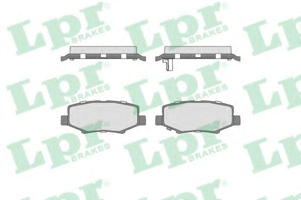 Тормозные колодки  арт. 05P1555