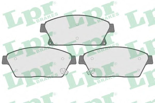 Тормозные колодки дисковые  арт. 05P1562