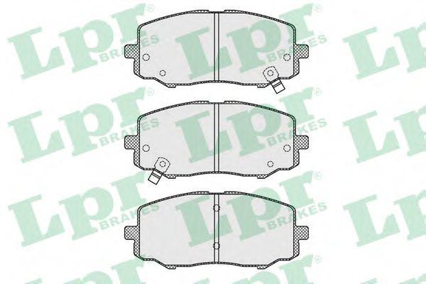 Тормозные колодки дисковые  арт. 05P1633