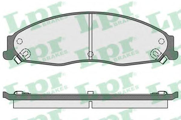 Тормозные колодки дисковые  арт. 05P1704