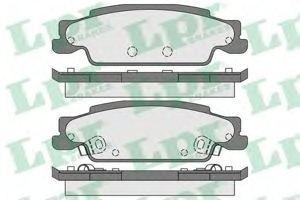 Тормозные колодки дисковые  арт. 05P1705