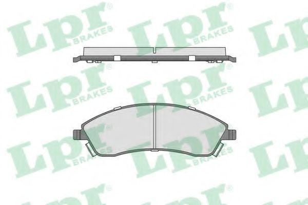 Тормозные колодки дисковые  арт. 05P1706
