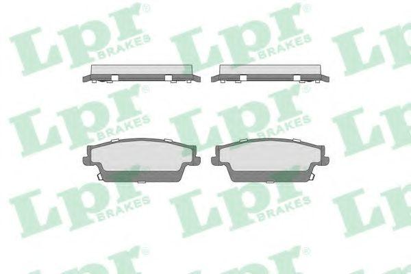 Дисковые тормозные колодки  арт. 05P1707