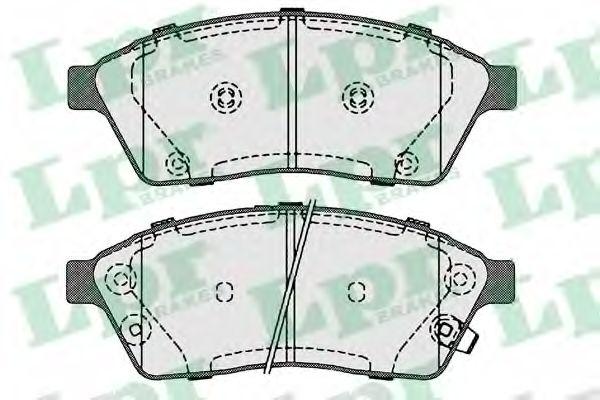 Тормозные колодки дисковые  арт. 05P1708