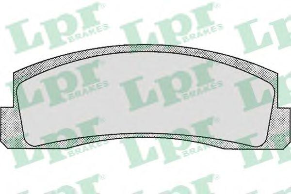 SF2280 Тормозные колодки Niva (2121) LPR 05P179
