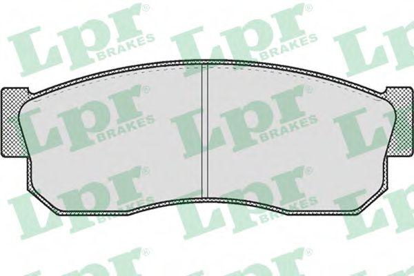SF2390 Тормозные колодки LPR 05P185