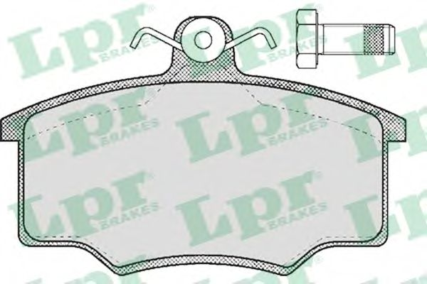 SF2275 Тормозные колодки LPR 05P188