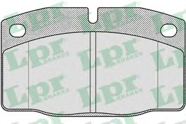 SF2270 Тормозные колодки LPR 05P190