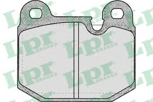 SF2271 Тормозные колодки LPR арт. 05P210