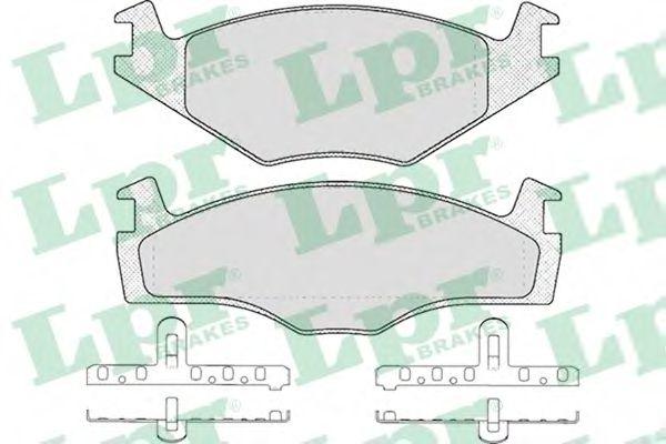 SF2382 Тормозные колодки LPR 05P225