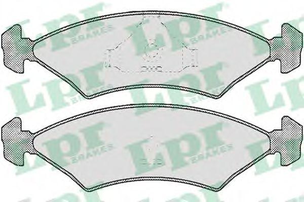 Тормозные колодки  арт. 05P232