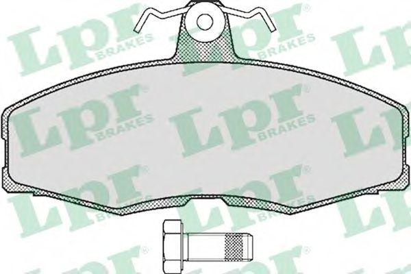 05P234  LPR - Гальмівні колодки до дисків (F, S)  арт. 05P234